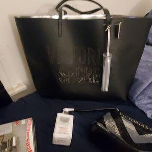Victoria secret bag and accessories